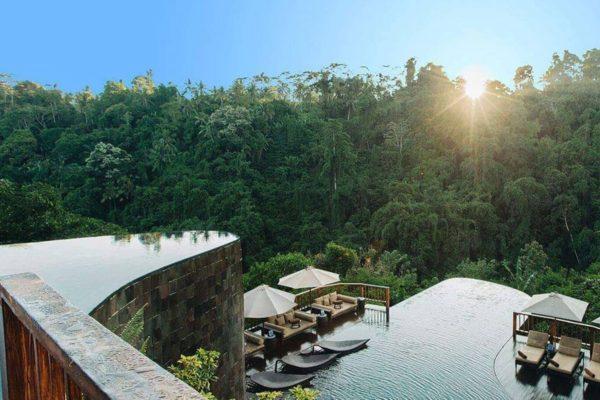 Hanging Gardens of Ubud Bali